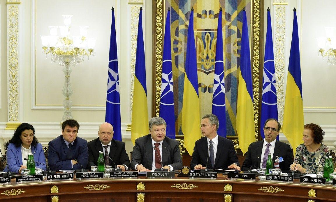Заседание Украина-НАТО.
