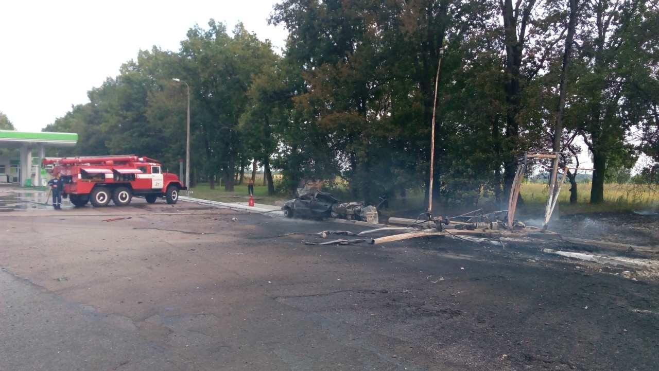 На Киевщине в результате аварии на АЗС есть погибший