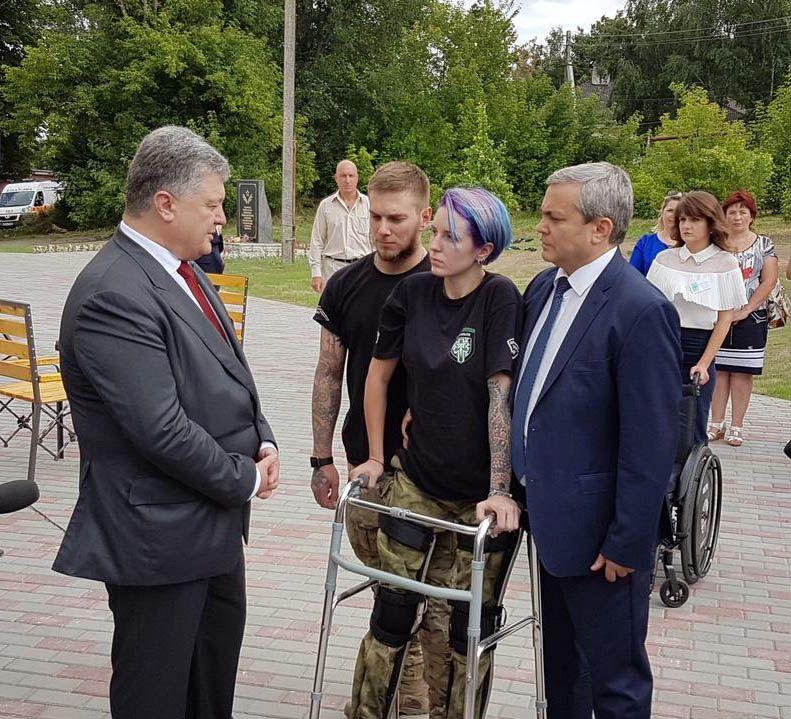 Порошенко встретился в волонтерами и ветеранами АТО