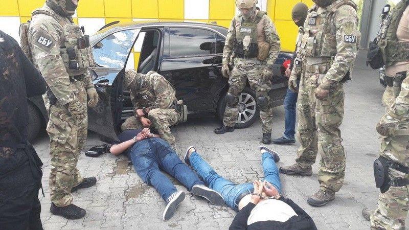 На Житомирщине поймали банду рэкетиров