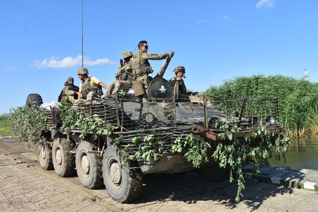 Вооруженные силы Украины.