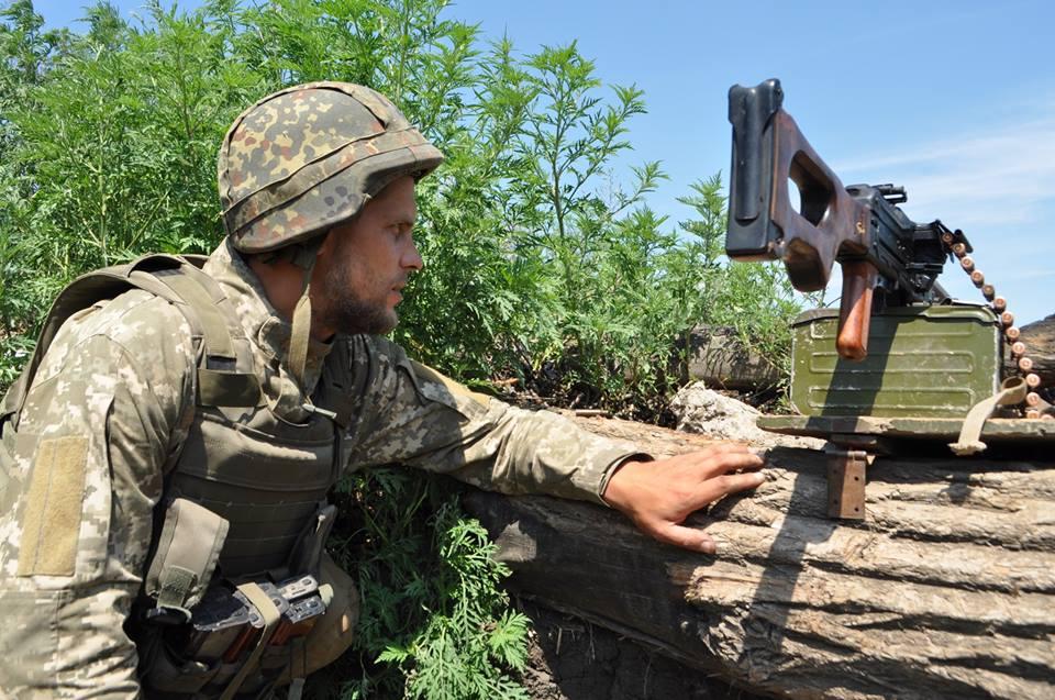 Силы АТО на Донбассе, иллюстрация.