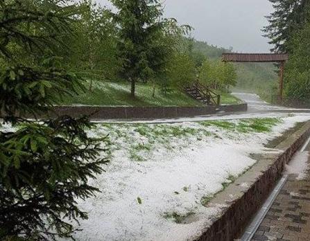 Закарпатье,гроза,дождь,снег,погода,непогода