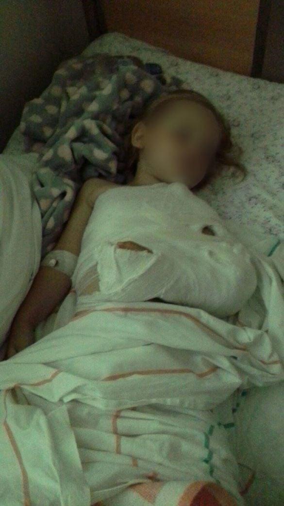 Трехлетняя девочка попала в реанимацию.
