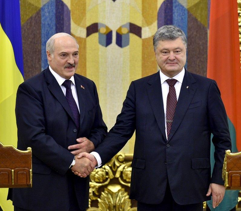 Порошенко подвел итоги встречи с Лукашенко
