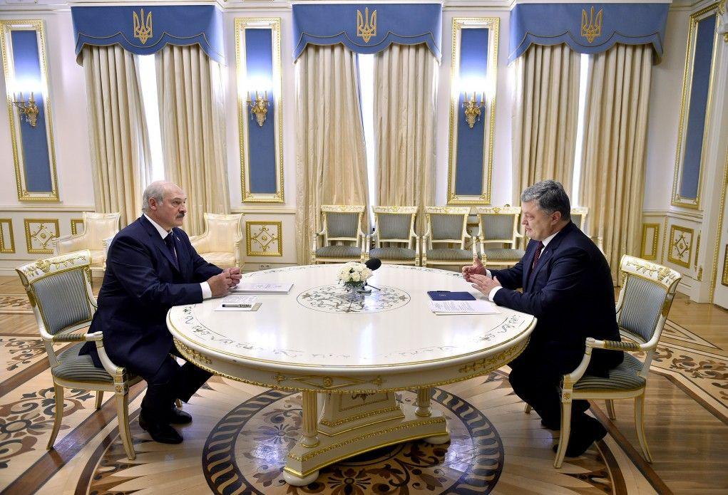 Порошенко и Лукашенко договорились о создании СП
