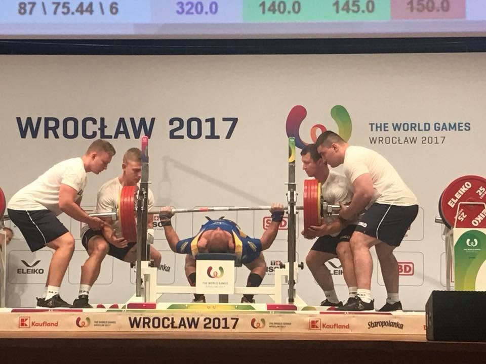 Украинцы завоевали медали в пауэрлифтинге