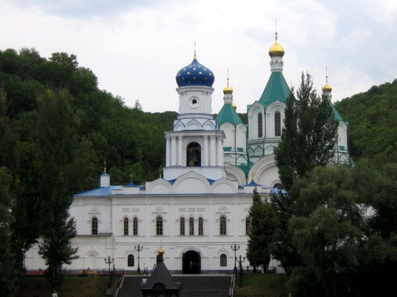 Свято-Успенская Святогорская лавра. Покровская церковь