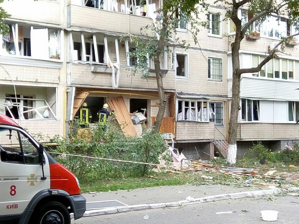 В многоэтажке Киева прогремел взрыв