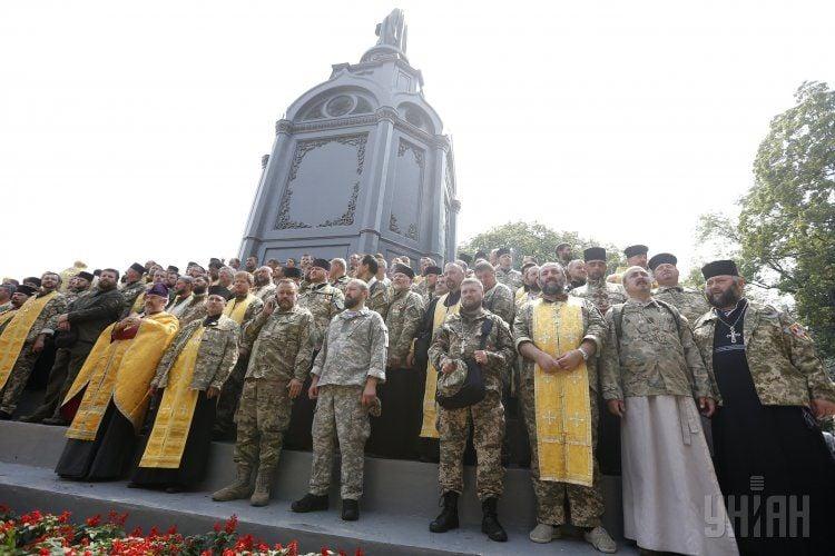 Филарет на молебне ко Дню крещения Киевской Руси: мы отпразднуем победу над агрессором
