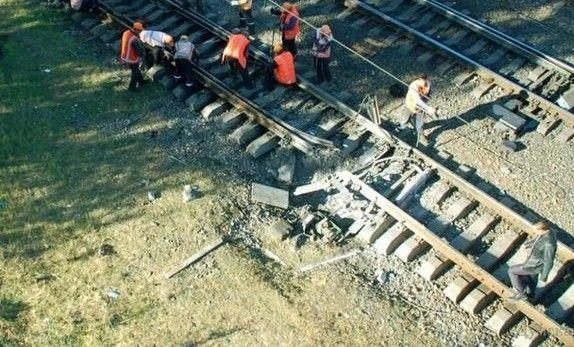 Последствия взрыва в Одесской области