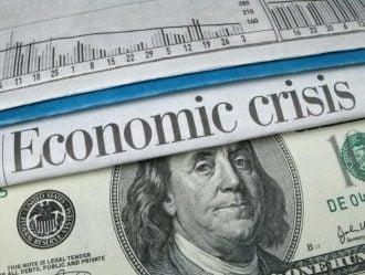 Доллар и евро в Украине придушили