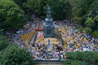В Украине отмечают 1030-летие крещения Киевской Руси