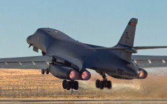 Бомбардировщики США пролетели над Кореей