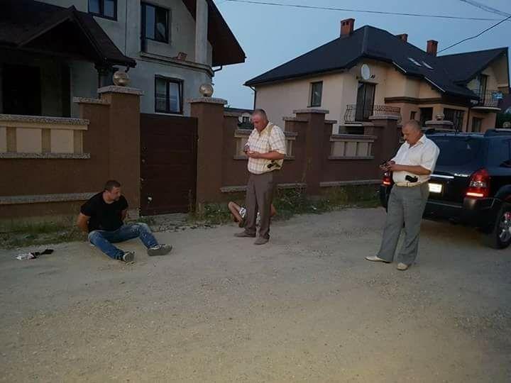 Задержание в Ивано-Франковске.