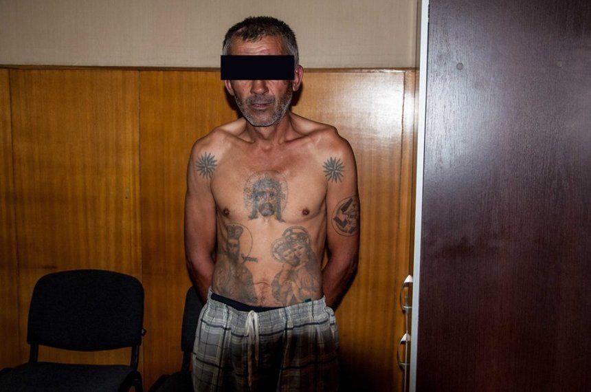 Задержанный признался в совершении преступления.