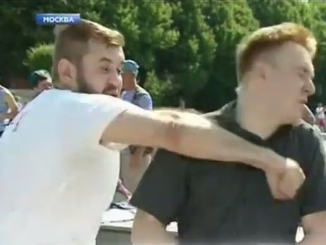 Бабченко потроллил избиение пропагандиста НТВ