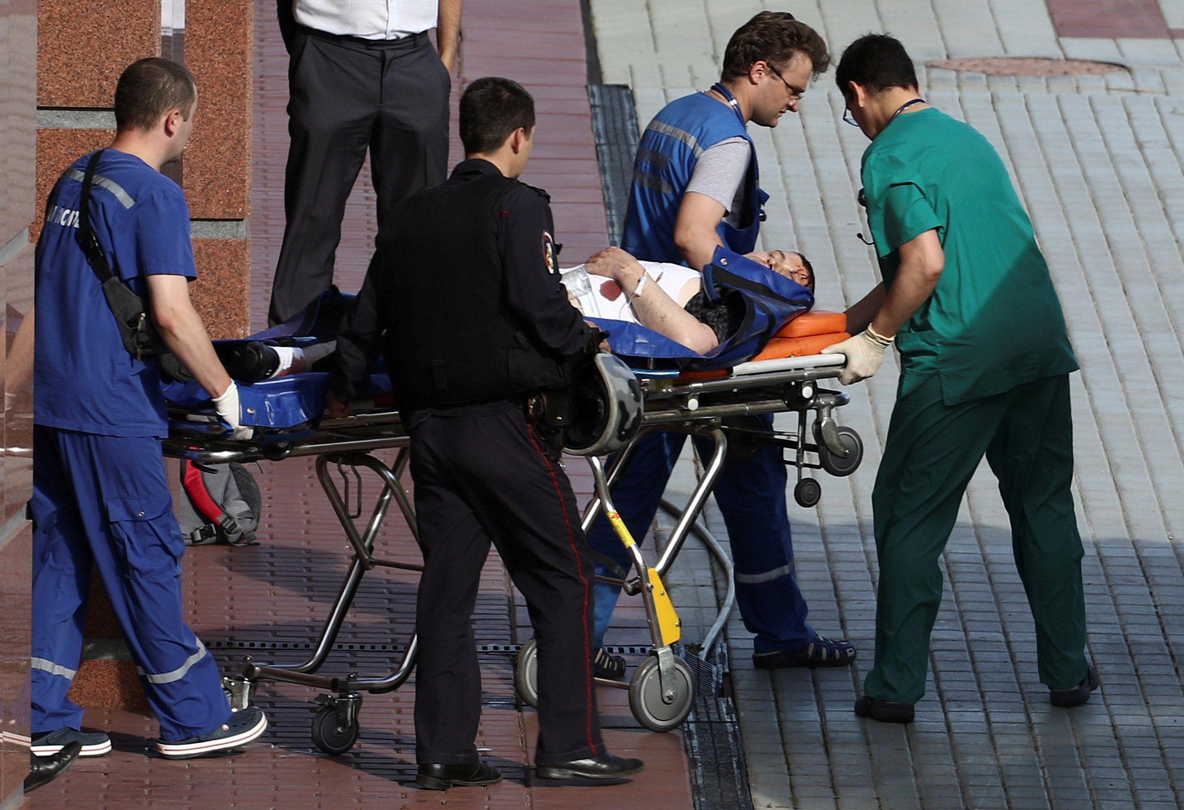 Один из раненых при стрельбе в Мособлсуде