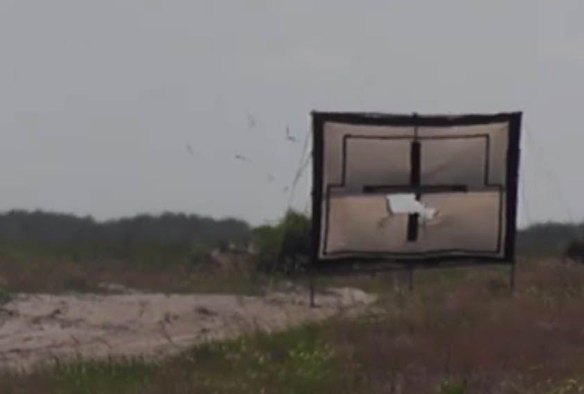 Испытания украинских противотанковых ракет