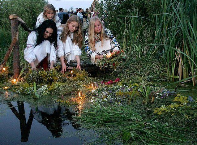 Слов'янські обряди світлі та сповнені любов'ю до людини світлодушої
