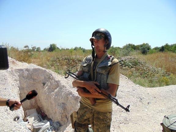 С гранатой в ноге. Медики спасли украинского военного, раненого в зоне АТО