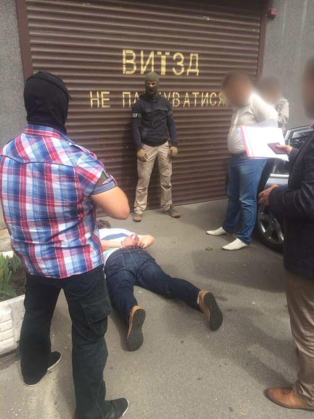 В Киеве на взятке попался арбитражный управляющий