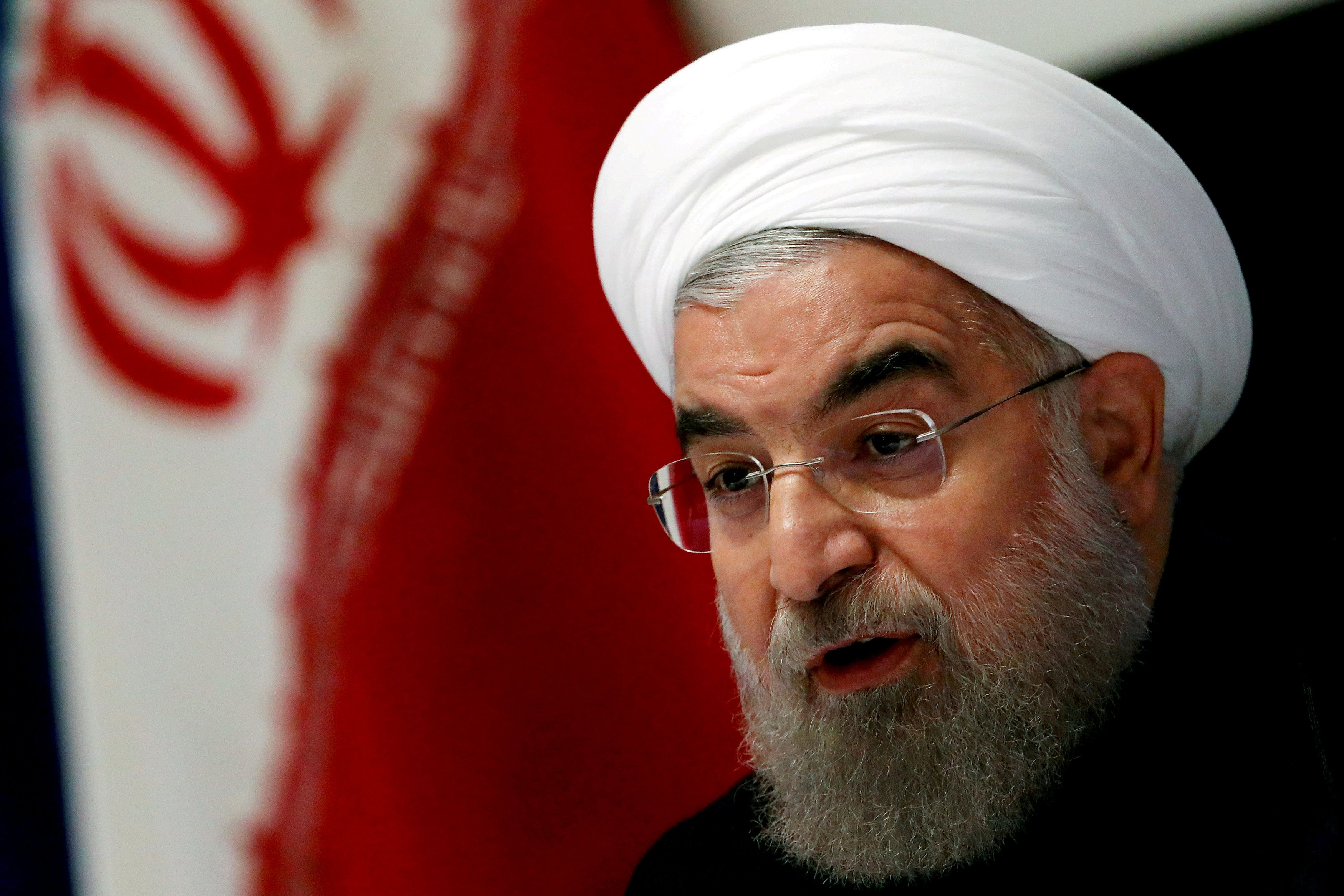 Рухани, Иран