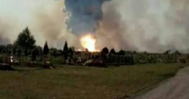 Блестящая операция. В Донецке взорван огромный склад оружия боевиков, опубликованы фото и видео