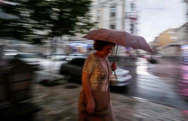 В Укргидрометцентре предупредили, что в Киеве в субботу будет гроза