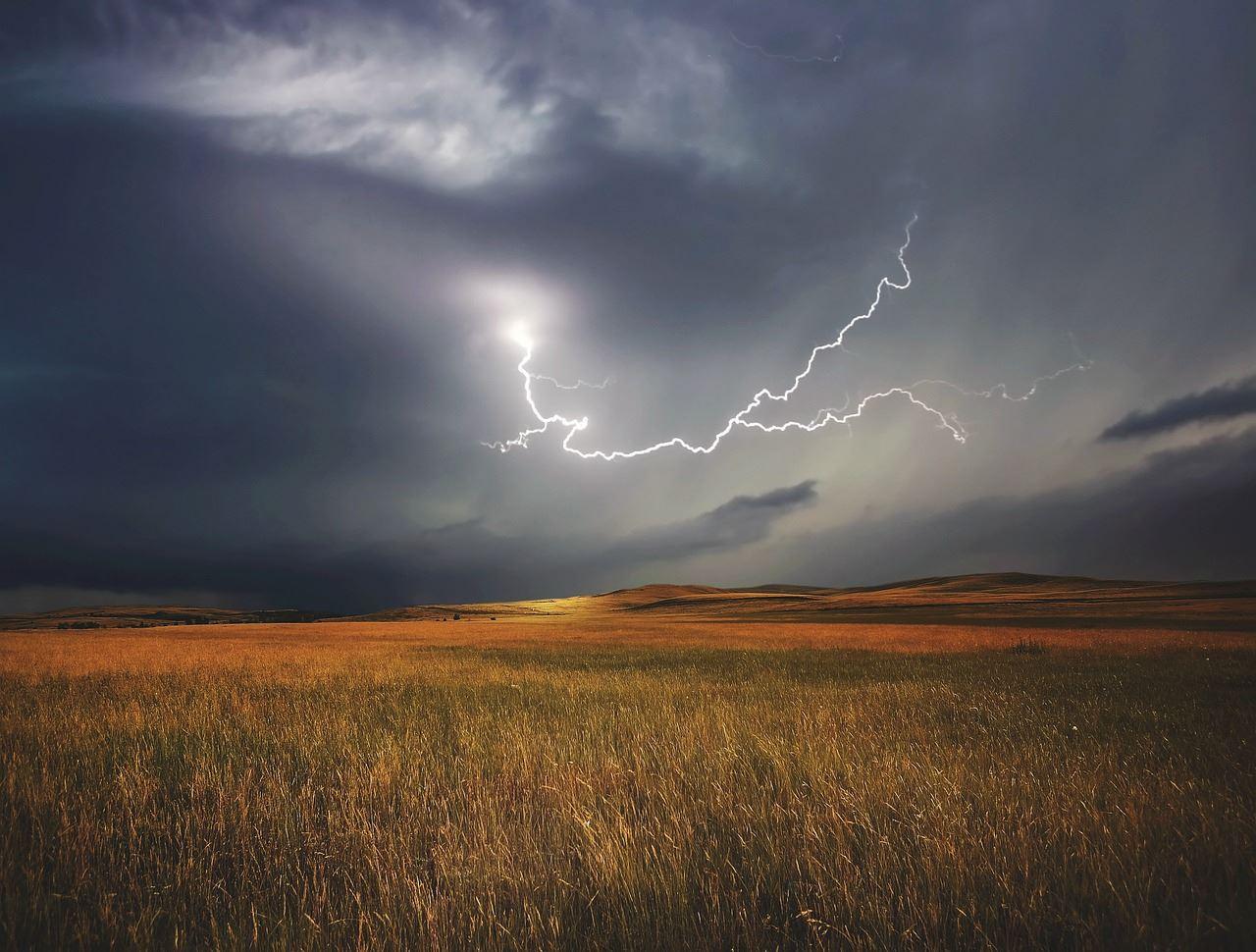 Погода, молния, гроза