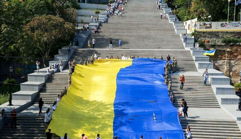 Одесса, флаг