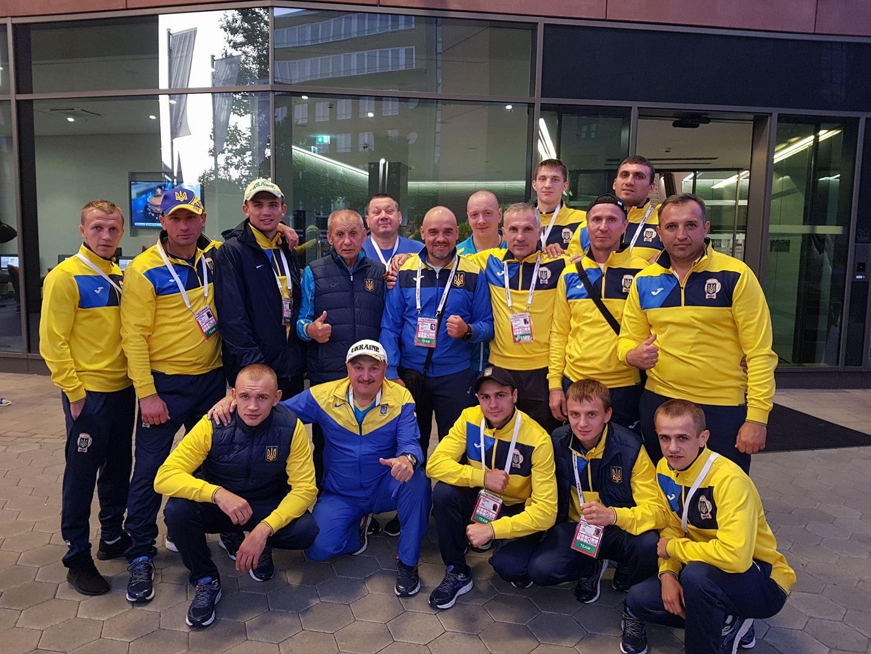 Чемпионат мира, Гамбург, бокс, сборная Украины