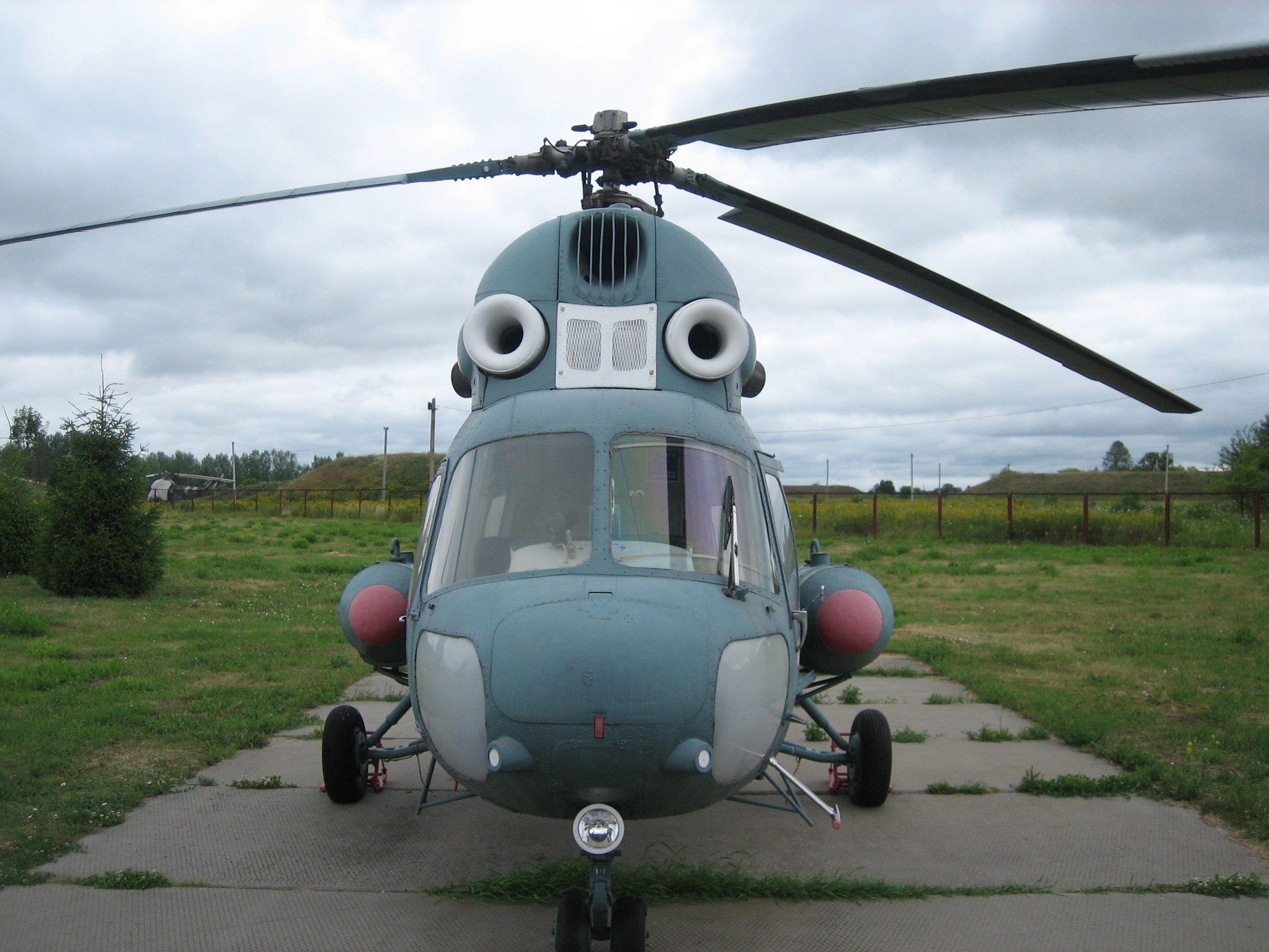 Полтавский музей дальней и стратегической авиации. Ми-2