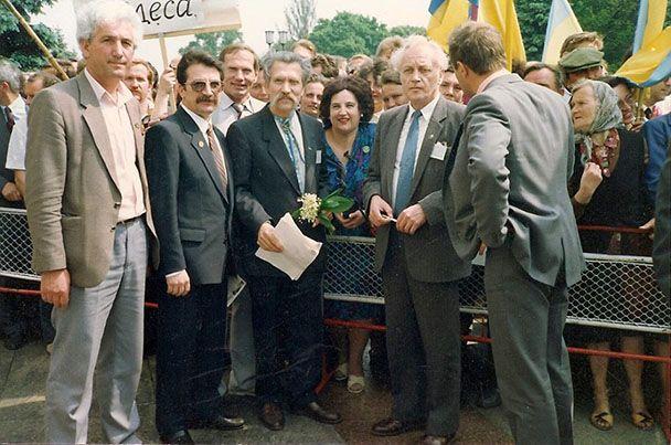 Члени Народного руху біля Верховної Ради