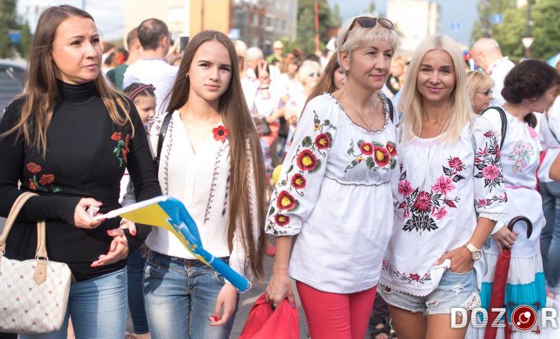 День вышиванки-2018 Украина отмечает 17 мая.