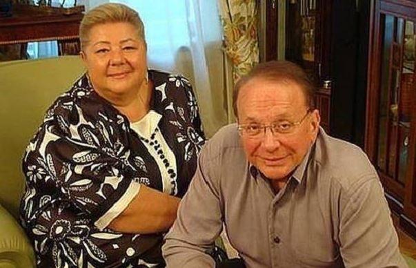 Алескандр Масляков с супругой