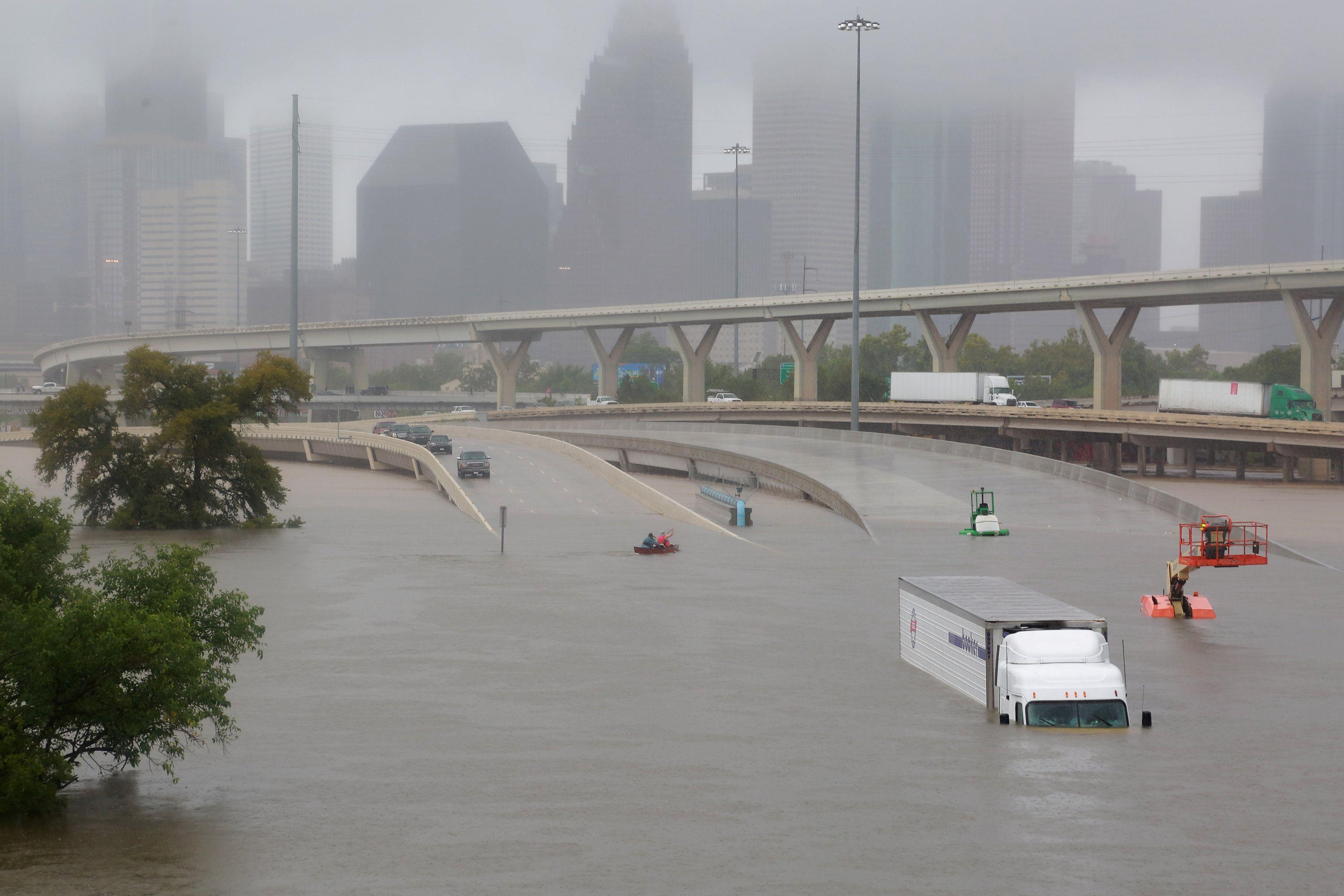 Последствия урагана в США, иллюстрация