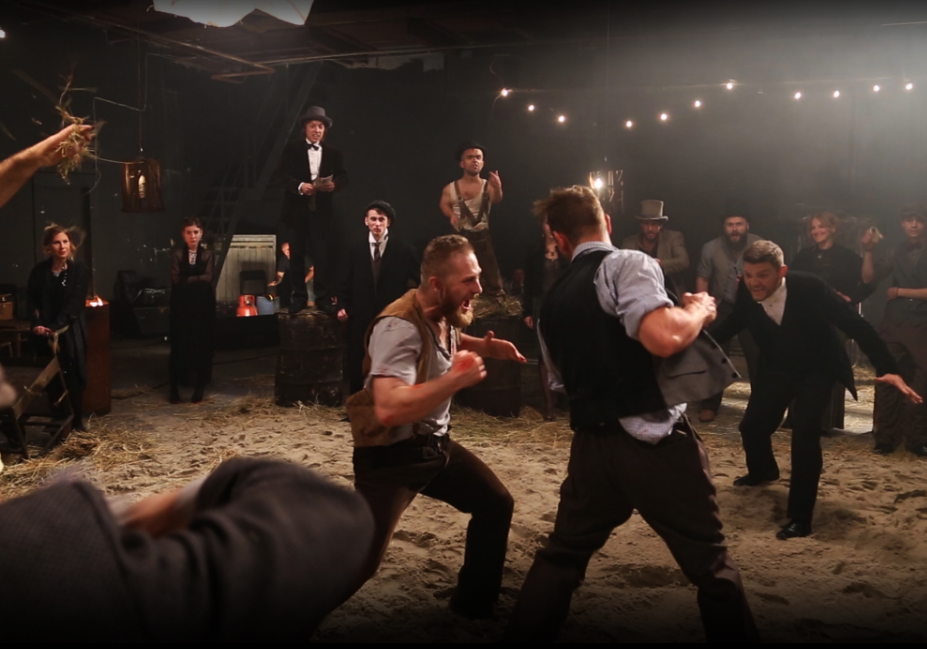 Сцена из клипа