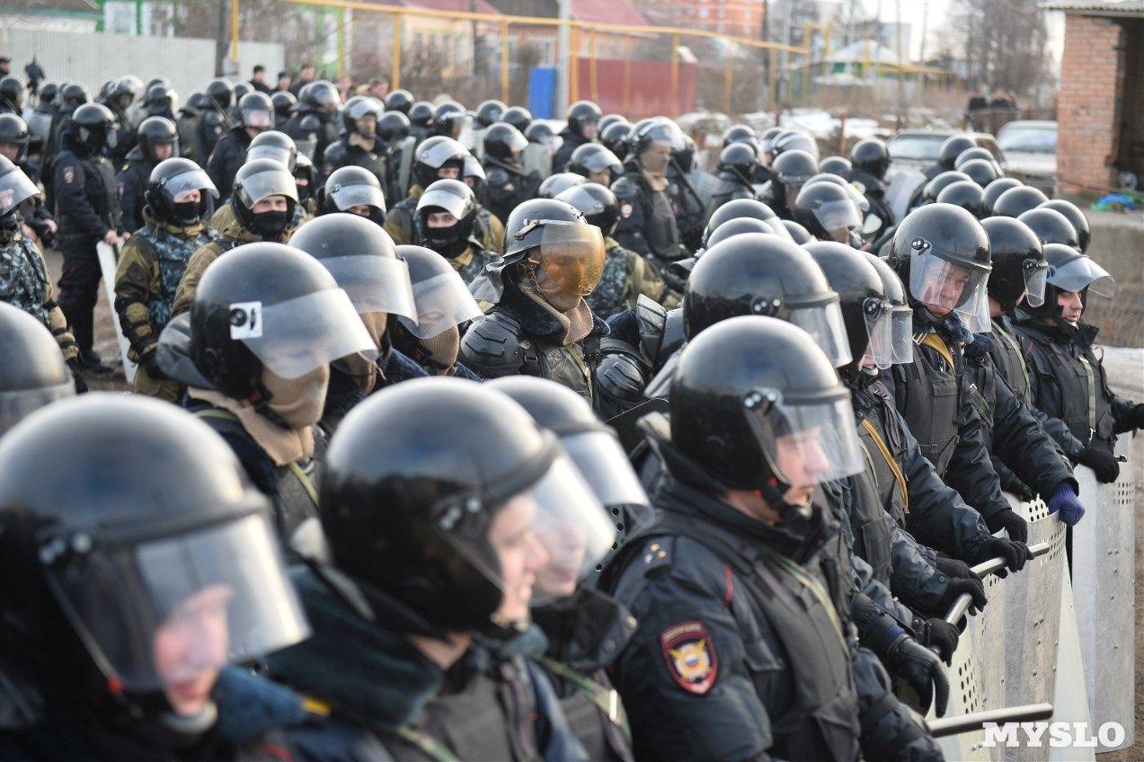 Россия стала полицейской страной