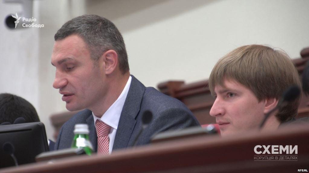 Виталий Кличко и Владимир Бондаренко