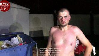 Неизвестный сказал, что его зовут Вася, ему 30 лет и он из села Горенки.