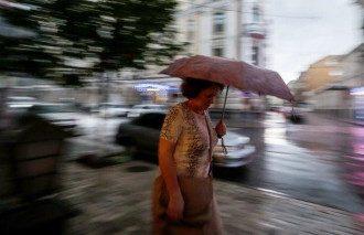 Київ,дощ