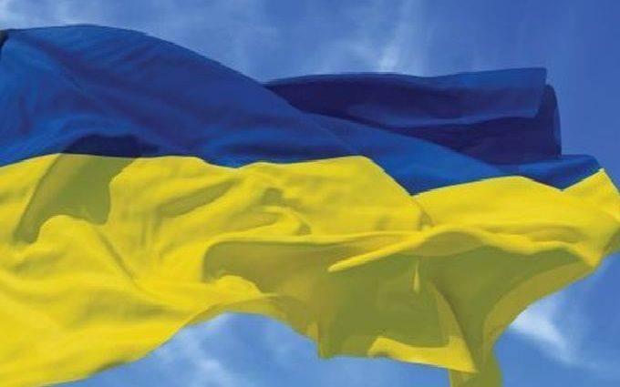 На митинге в Москве был скандал из-за флага Украины