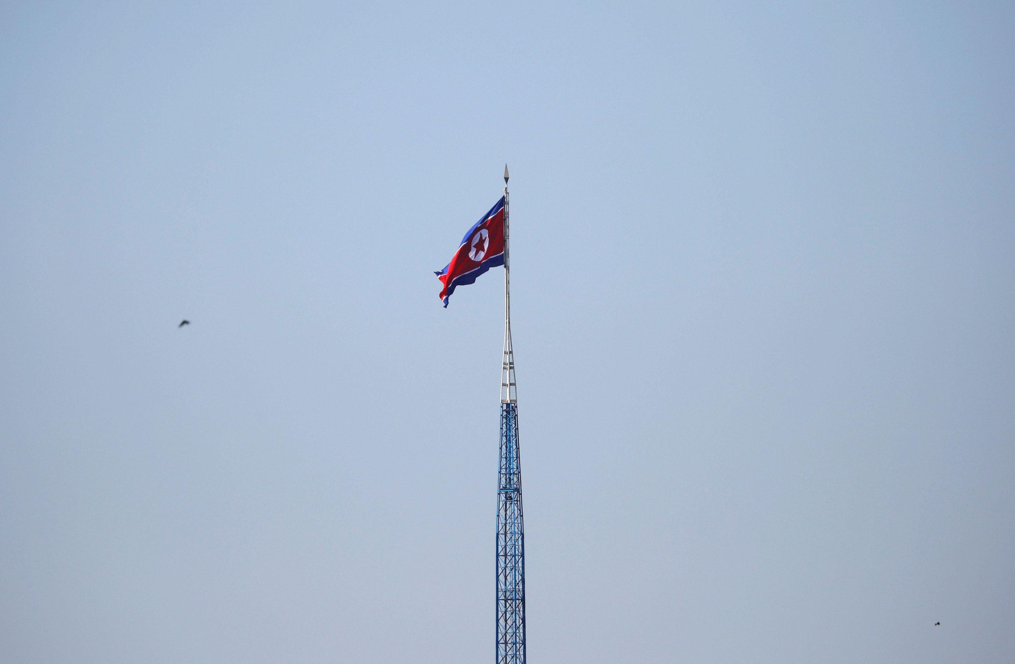 Флаг КНДР, иллюстрация