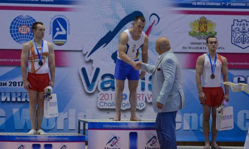 Радивилов выиграл две золотых медали.