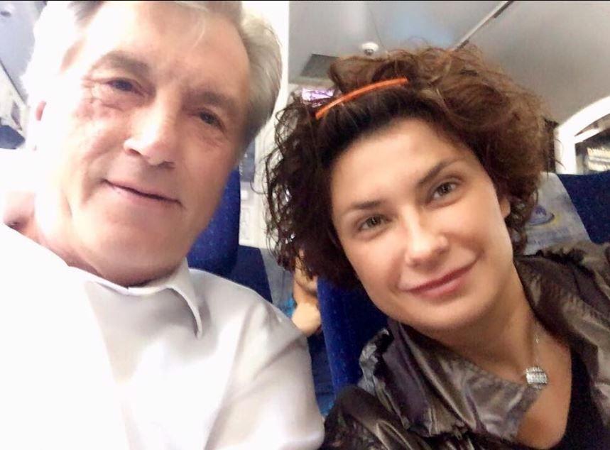 Виктора Ющенко и Ирина Ванникова