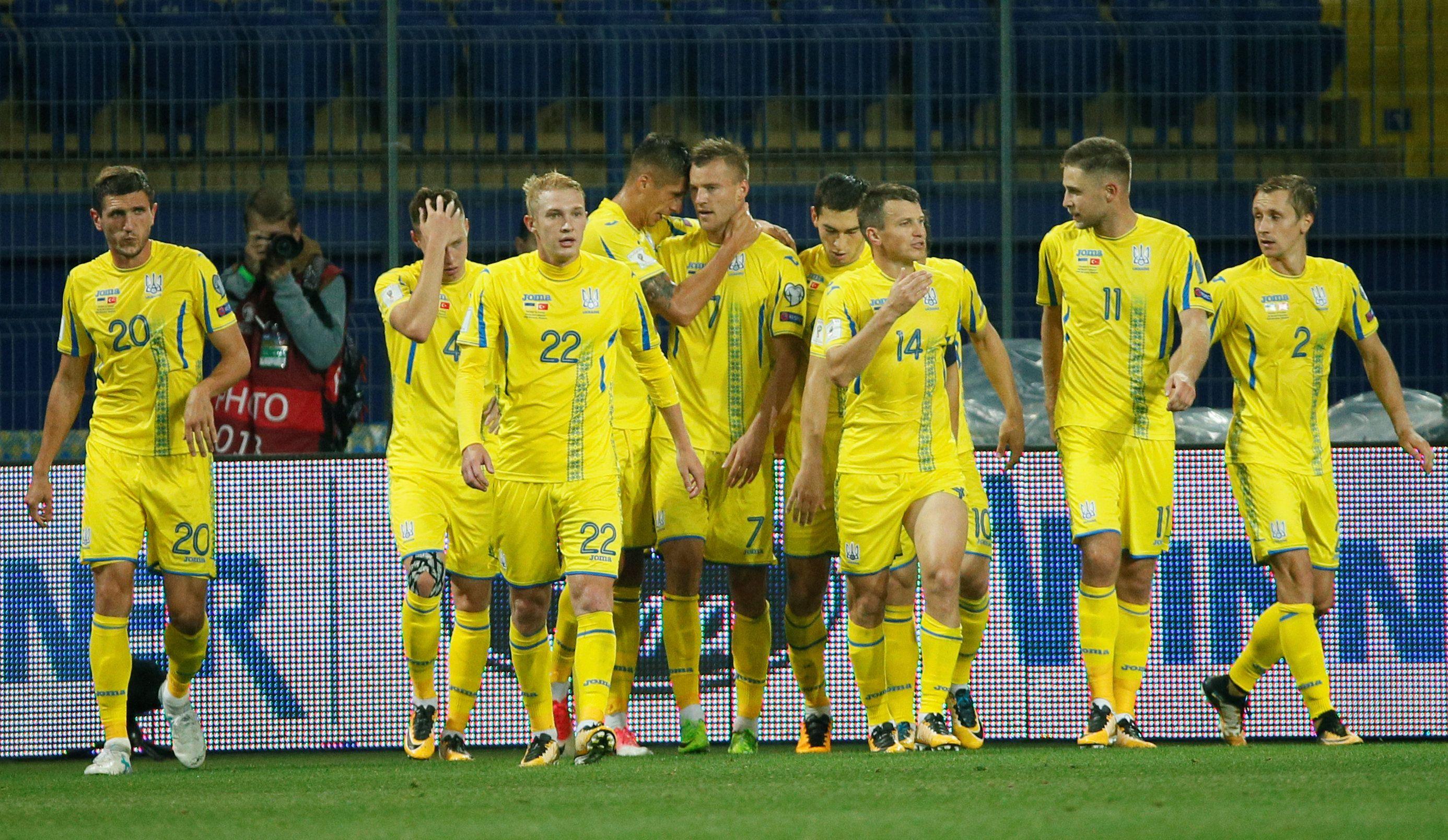 Игроки сборной Украины, иллюстрация