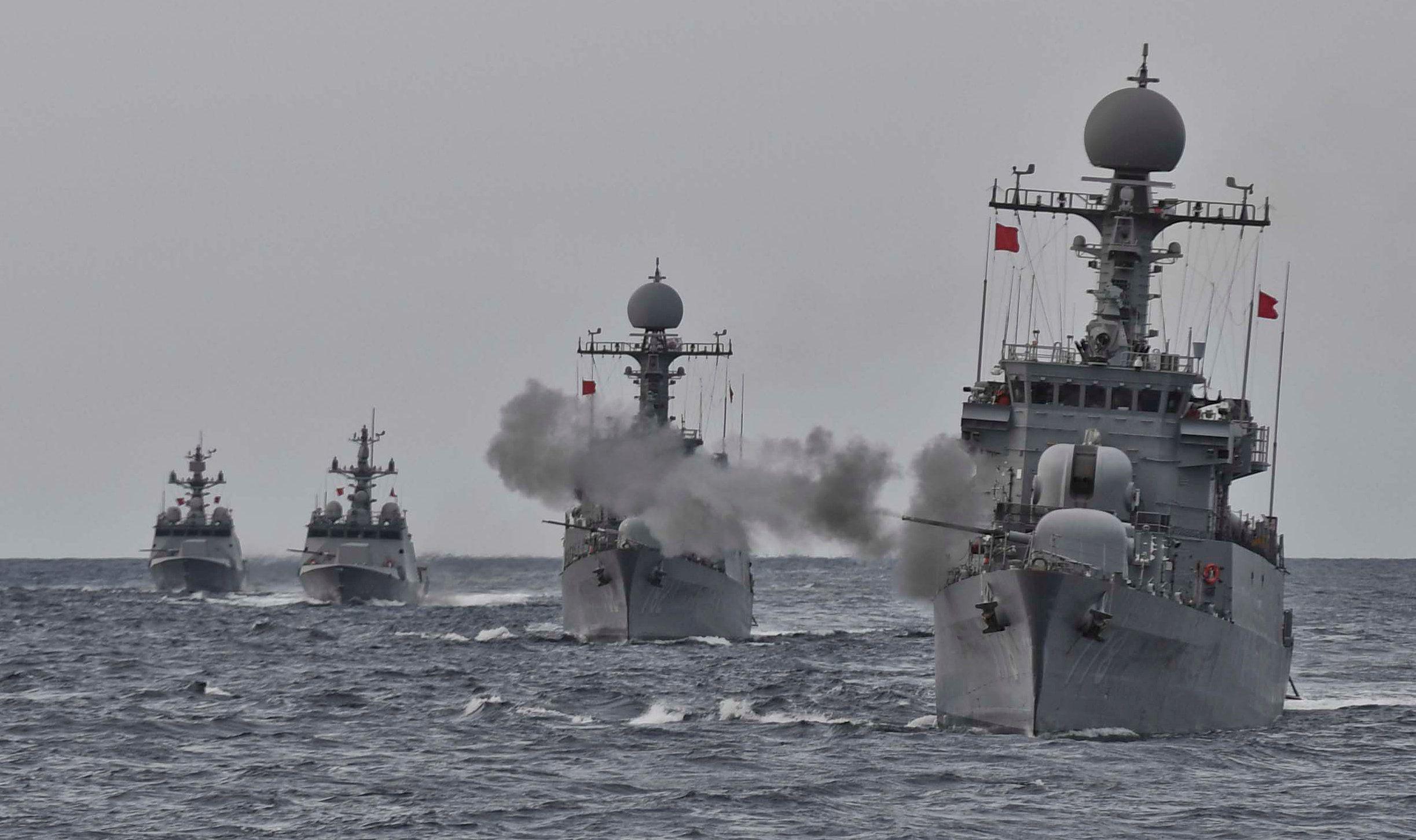 Южная Корея провела военные учения