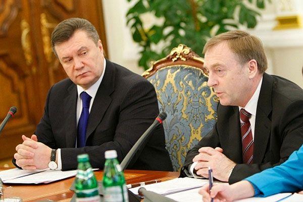 Виктор Янукович и Александр Лавринович.