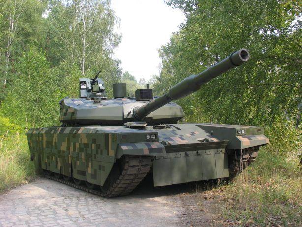 Польский концепт танка PT-16, иллюстрация.